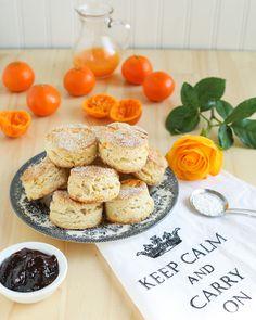 Fragrant Orange English Scones | Thirsty for Tea