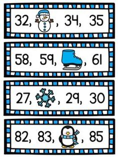 Winter numbers to 100 activity - perfect for first grade! Kids simply look at the cute picture and figure out what it's covering to get a ton of math practice! This is a great review game to do in January! Fractions Worksheets, Multiplication Facts, Kindergarten Activities, Writing Activities, Number Sense Activities, Winter Words, Math Help, Math Practices, Learning Numbers