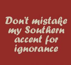 Being Southern