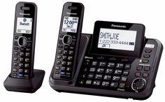 PANASONIC KX-TG9542B 2-Line Cordless Link to Cell, USB, 2-line Answering System  #Panasonic