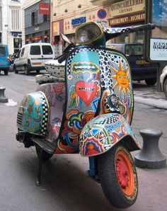 And here is my Vespa for getting around @Kimberly Peterson Peterson Adams