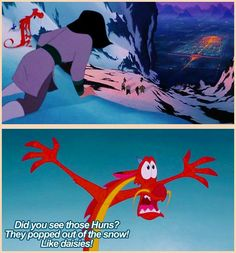 """I'm beginning to think I should call this page """"Mulan Quotes""""(don't worry I'll add others soon)"""