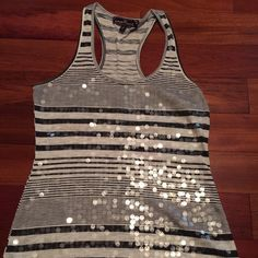 Sequin tank Super cute sequin tank. Only wore 1 time in great condition Almost Famous Tops Tank Tops