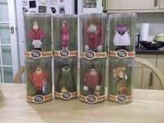 Wacky Races 8 figurines Peter Perfect Penelope Pitstop Gruesome Twosome etc BNIB  | eBay