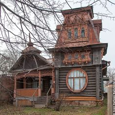 the wonders of Russian wooden architecture. Wooden Architecture, Russian Architecture, Beautiful Architecture, Beautiful Buildings, Residential Architecture, Architecture Details, Architecture Portfolio, House Architecture, Beautiful Places