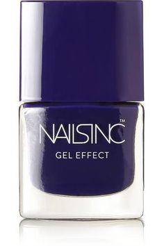 amazing colour! on my list of colours to try! Gel Effect Nail Polish - Old Bond Street #covetme #nailsinc