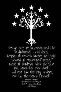 Sam's Song ~ The Lord Of The Rings