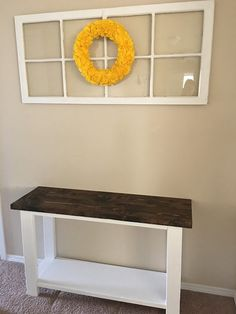 How to build a pallet sofa table. Pallet Sofa Tables, Diy Sofa Table, Pallet Benches, Pallet Couch, Pallet Bar, Outdoor Pallet, 1001 Pallets, Recycled Pallets, Console Table
