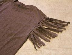 How to make Girl's Indian Costume in few minutes. All you need is just plain brown mens T-shirt and scissors. I used medium size shirt for my five year old. I bought mine at Target for $4.99 …