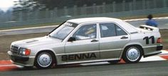 Mercedes 190E Ayrton , in a race organized by the mark on the Nurburgring in May 1984