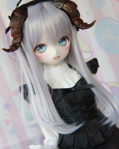 Follow me? 👀 Anime Chibi, Kawaii Anime, Japanese Doll, Anime Dolls, New Dolls, Custom Dolls, Cute Crafts, Ball Jointed Dolls, Princess Zelda