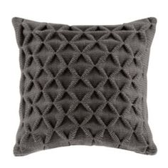 Madison Park 20'' x 20'' Waffle Knit Throw Pillow/