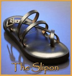 I have both styles of these sandals...some of the most comfortable shoes I own!