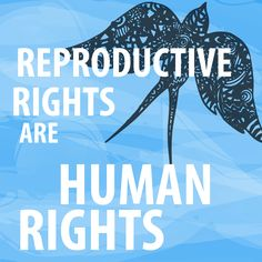 Reproductive Rights Are Human Rights.