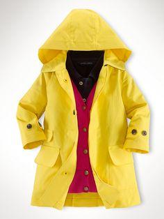 Classic Mac Jacket - Outerwear & Jackets  Infant Girl (9M–24M) - RalphLauren.com