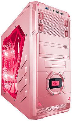 Buy APEVIA Series Pink Steel ATX Mid Tower Computer Case with fast shipping and top-rated customer service.