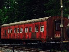 Train car from Twin Peaks 'Fire Walk With Me'... Maybe, maybe not... Snoqualmie, WA