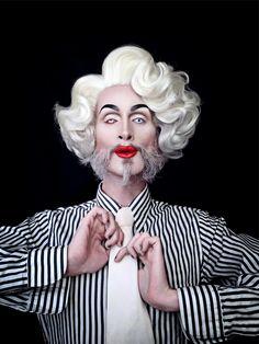 Extravaganza drag queen : Mathu Andersen
