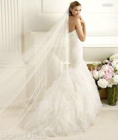 Wedding dress- Pronovias Duede