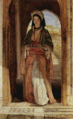 John Frederick Lewis RA (Londres, 14 de julio de 1804 - 15 de agosto de 1876), pintor de orientalismo inglés. The Coffee Bearer