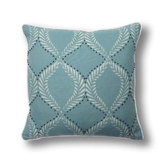 Textiles, Modern Prints, Pillow Inserts, White Cotton, Stamping, Printing, French Knots, Throw Pillows, Outline