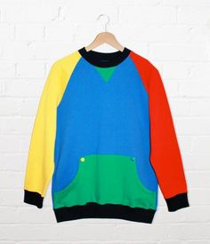 Lazy Oaf Primary Panel Men's Sweatshirt