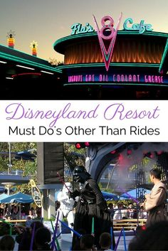 Resort's Must Do Activities That Aren't Rides Looking for things you have to do while visiting the Disneyland Resort. The things to do at Disneyland and California Adventure that aren't rides.Rides (disambiguation) Rides may refer to: Disney Resort Hotels, Disneyland Resort, Disneyland Paris, Disney Vacations, Disneyland October, Disneyland Honeymoon, Family Vacations, Disney California Adventure, Disney World Tips And Tricks