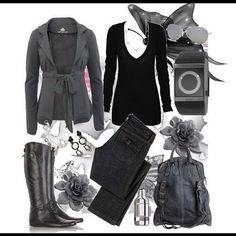 abrigo gris corto de https://www.facebook.com/pages/Fashion/202923493064050?ref=ts=ts