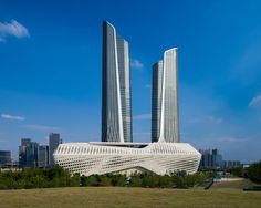 Zaha Hadid Architects' Nanjing International Youth Cultural Centre nears completion