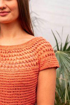 Twilight Top Pattern   Crochet.com Crochet Hooks, Free Crochet, Crochet Top, Top Pattern, Free Pattern, Stitch Patterns, Crochet Patterns, Fingering Yarn, Easy Projects