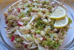 Fotorecept: Šošovicovo-zeleninový šalát