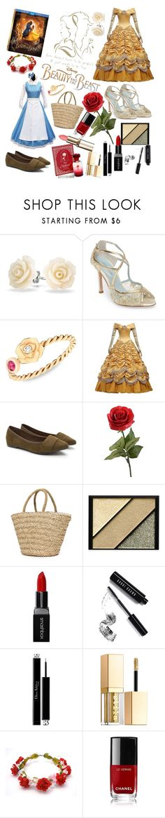 """""""Beauty and the Beast"""" by myna-bird on Polyvore featuring Disney, Bling Jewelry, Bella Belle, Piaget, Sundry, Elizabeth Arden, Smashbox, Bobbi Brown Cosmetics, Christian Dior and Stila"""