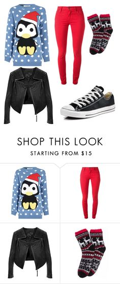"""""""Swagalicious"""" by taylor-ross115 on Polyvore featuring Glamorous, Burberry, Linea Pelle and Converse"""