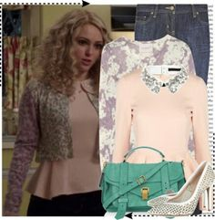 'The Carrie Diaries' outfit.
