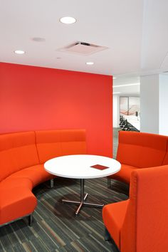 Radius Lounge from Davis Furniture - GSK Oncology | Francis Cauffman
