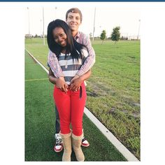 Beautiful young interracial couple #love #wmbw #bwwm