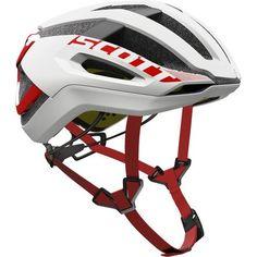 Scott Centric Plus HelmetWhite/Red