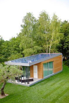 | Green Zero | A modular housing unit designed by Studio di Architettura Daniele Menichini in Treviso, Italy. ~ click on photo for more ~