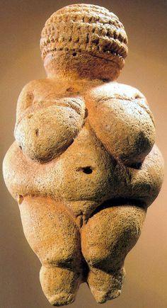Venus of Willendorf, 24,000-22,000 B.C.