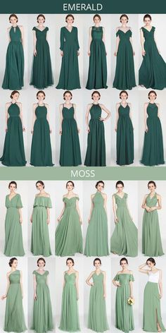 emerald and moss green bridesmaid dresses # bridal shower # bridesmaid dresses . - emerald and moss green bridesmaid dresses # Green wedding … - Emerald Bridesmaid Dresses, Wedding Bridesmaids, Bridal Dresses, Dresses Dresses, Green Bridesmaids, Emerald Dresses, Wedding Gowns, Forrest Green Bridesmaid Dresses, Infinity Dress Bridesmaid