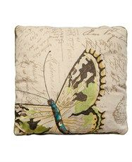 Embroidered Butterfly Cushion 45cm x 45cm  Matalan  £10