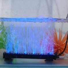 New Aquarium Fish Tank HIGH BRIGHT Underwater Submersible Air Bubble LED Lights - $7.99