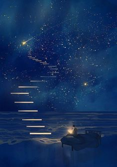 Fantasy art drawings pictures new Ideas Anime Kunst, Anime Art, Galaxy Wallpaper, Anime Scenery Wallpaper, Wallpaper Samsung, Night Skies, Sky At Night, Dream Night, Art Night
