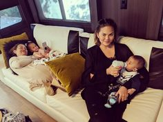 Chrissy Teigen had the perfect response for a nosy fan who asked if she's no longer breastfeeding her infant son Miles. Mindful Parenting, Parenting 101, Christine Teigen, Perspective On Life, 5 Month Olds, Trials And Tribulations, My Gym, John Legend, Old Models