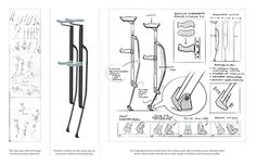 Carbon Crutches on Behance