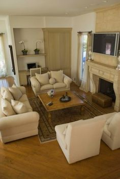 33 Living Room Ideas With Fireplace And Tv Living Room With Fireplace Living Room Designs Living Room Decor
