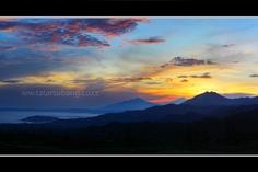 Sunrises in Ciater, Subang, West Java