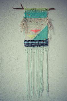 et puis je tisse…tissage / weaving sur planB