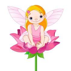 Picture of Hada en una Flor