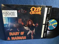 RARE Vintage Ozzy Osbourne  Diary Of A Madman by sweetleafvinyl